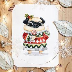 69 Super Ideas for children illustration art girls Christmas Illustration, Cute Illustration, Watercolor Illustration, Christmas Drawing, Christmas Art, Watercolor Christmas, Cartoon Kids, Girl Cartoon, Character Concept