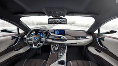 bmw i8 concept car interior mirrorless ces 2016