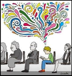 Reading does happy things to your mind.