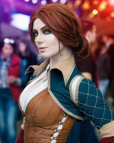 Triss Merigold by Mellu's Cosplay : witcher Triss Merigold Cosplay, Triss Merigold Witcher 3, Triss Cosplay, The Witcher, Witcher Art, Best Cosplay, Awesome Cosplay, Cosplay Girls, Marvel Dc