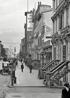 U.S. F Street Northwest in Washington, D.C., circa 1906.