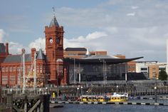 Cardiff Bay. Cardiff Bay, Home And Away, San Francisco Ferry, Building, Places, Travel, Viajes, Buildings, Destinations