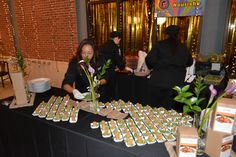 2013 Memphis Blues Ball. Our Tuscan Crisps - Gluten & Grain Free Pizzelles Laced with Goat Cheese & Bacon Jam.  Pizzelles made from our Nourishe Waffle & Pancake Mix.