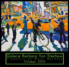 Tom Christopher at the Barbara Stechow gallery 2015