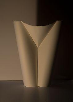 """""""v""""- 2017 - papier Arches hot pressed 300g - 44x34 cm"""