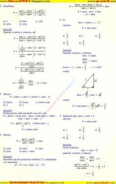 Las Mejores 10 Ideas De Identidades Trigonometricas Identidades Trigonometricas Identidad Ejercicios Resueltos