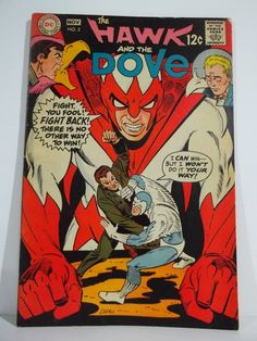 Hawk and Dove 2  Silver Age DC Comic Book by TheDoogieDungeon