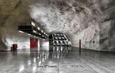 Subway Stations System @ Stockholm, Sweden. Ticket Price: €4. Ph.: Alexander Dragunov.
