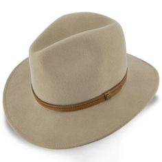Cruiser Walrus Hats Dark Brown Wool Felt Safari Hat 76f581b09ec4