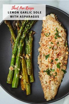 This Sheet Pan Lemon Garlic Sole makes an amazing dinner! It is easy and everyone around your dinner table will love this! #weeknightmeals #dinnerideas #solerecipes Easy Fish Recipes, Seafood Recipes, Cooking Recipes, Healthy Recipes, Seafood Meals, Summer Recipes, Healthy Meals, Free Recipes, Healthy Comfort Food
