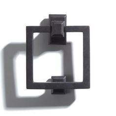 Solid Bronze Square Ring Door Knocker