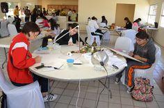 Compiten estudiantes de secundaria en concurso de pintura y dibujo | El Puntero