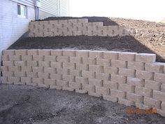top 10 ideas for diy retaining wall construction | gardens, an and ... - Patio Walls Ideas