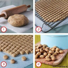 Drop the hassel regarding small xmas cookies. Xmas Cookies, Cake Cookies, Christmas Treats, Christmas Baking, Danish Christmas, Keks Dessert, Danish Cookies, Dog Food Recipes, Cake Recipes