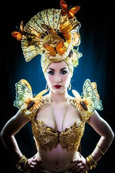 Medianoche, the current Queen of Burlesque, performs and presents a workshop at this year's festival.