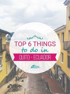 If you are thinking of travelling to Ecuador. Don't skip the world heritaged listed capital Quito. Quito is almost 3000 meter above the sea!