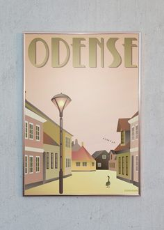 Plakaten er designet af Visse Vasse - Just Spotted giver altid FRI FRAGT til alle adresser i DK