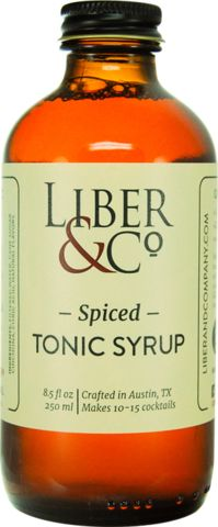 Liber & Co Spiced Tonic Syrup isn't subtle – they elevate the traditional flavor profile of tonic with fresh botanicals and cracked spices to make it far bolder than typical tonic waters. Real cinchon