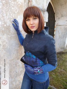 Hand felted jacket blazer merino wool by LGIFTSLithuania on Etsy