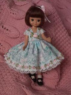 Blue-DRESS-SET-fits-8-Tiny-Betsy-McCall-doll-by-TLC