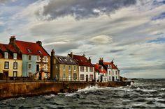 Windows to the sea, St Monans, Fife, Scotland - on the Fife Coastal Path.