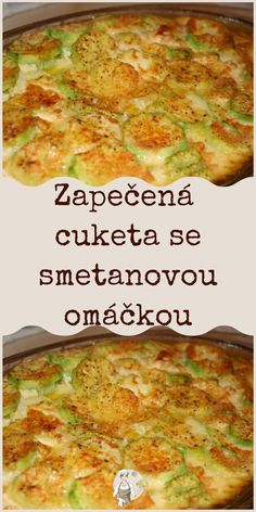 Zapečená cuketa se smetanovou omáčkou Pavlova, Pot Roast, Food Art, Crockpot Recipes, Paleo, Food And Drink, Low Carb, Vegetarian, Treats