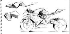 Notebook sketches by Greg Tada at Coroflot.com