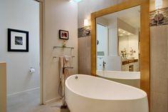 Master Bath, Soaking tub, Large mirror,