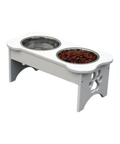 Take a look at this Dog Bone Pet Feeder by Etna Products on #zulily today!