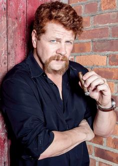 "Michael Cudlitz photographed by Spencer Heyfron for Cigar Aficionado Magazine ""'I've wanted to be an actor as long as I remember wanting anything.' """