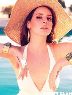 Lana Del Rey's Hair