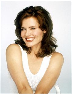Question geena davis cum facial