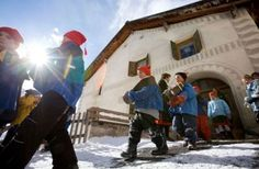 In Guarda © Andrea Badrutt, Chur/ Engadin-Scuol Tourismus Chur, Switzerland, Affair, Alps