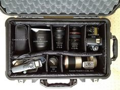 Ive got two of these with the optional lid organizer. I still can't believe I snagged one at a garage sale for $70!!! The lid organizer alone costs $40~ Pelican Case 1510