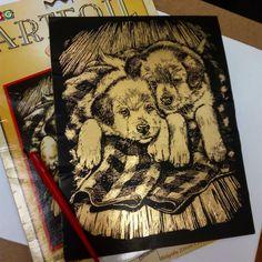 Доделала пушистиков  Теперь можно и спать лечь  Всем доброй ночи  #искусство #искусствовмассы #творчество #творческаянатура #art #artist #hobby #relaxation #inspiration #dogs #гравюра #vdk #spb #moscow #ekb #california #sandiego #alberta #vancouver #britishcolumbia #ontario #toronto #losangeles #chicago #newyork #newzealand #florida #newjersey #instagood #instaart