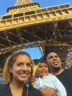At Tour Eiffel in Paris, France