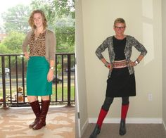 What We Wore: Dressed for Bad Weather   Two Take on Style