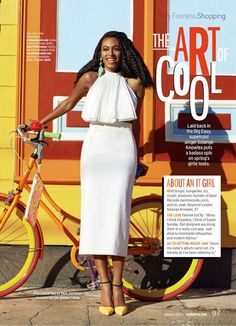 Solange Knowles Cosmopolitan Magazine March 2014 2