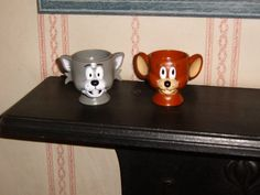 Love the cartoon egg cups.  Here is my Tom and Jerry.