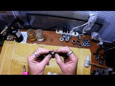 Self-Taught Jewelry Maker Demonstrates How to Make a Ring From a Coin In Only Two Minutes