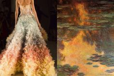 Match #391Details at Marchesa Spring 2016 | Water Lilies