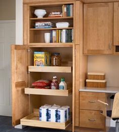 Be Sure To Have Higher Backs On Roll Out Shelves Natural Kitchen Cabinets Cabinet