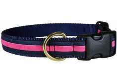 Dog Collars Made in the USA | Preppy Ribbon Dog Collars