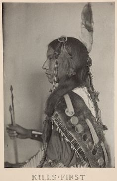 Kills First, Sioux Indian