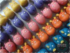 Doces modelados, Shaped candy, Sweet, Leite em pó, Leite Ninho. Pagina: Monike Doces Artesanais Backyardigans
