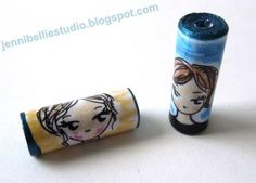 Jennibellie Studio: My *MASSIVE* Fancy Paper Beads Tutorial