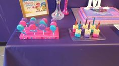 Mallory's Shimmer and Shine 5th Birthday party   CatchMyParty.com