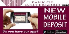 Download our mobile app today! Click to get the 411 on mobile banking.