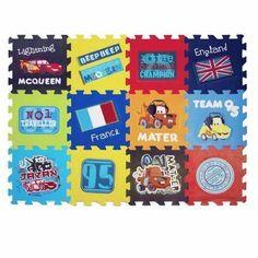 "Disney Lightning McQueen Puzzle Mat 34"" x 45"" 765206133715   eBay Rock N Play Sleeper, Disney Furniture, Lightening Mcqueen, Puzzle Mat, Disney Nursery, Best Kids Toys, Disney Pixar Cars, Vintage Disney, Kids Playing"