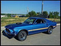 1969 Ford Mustang Mach I  R-Code 428 Cobra Jet My Dream Car!!!!! :)